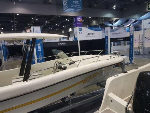 6.6米釣魚艇閃耀韓國KIBS船艇展