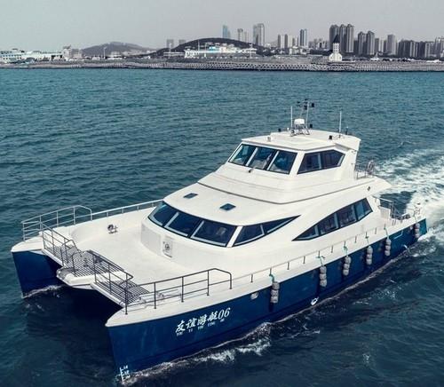 65英尺雙體旅游觀光客船成功交付數條